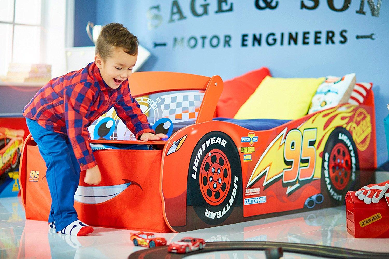 Dětská Svítící Postel Auta Cars