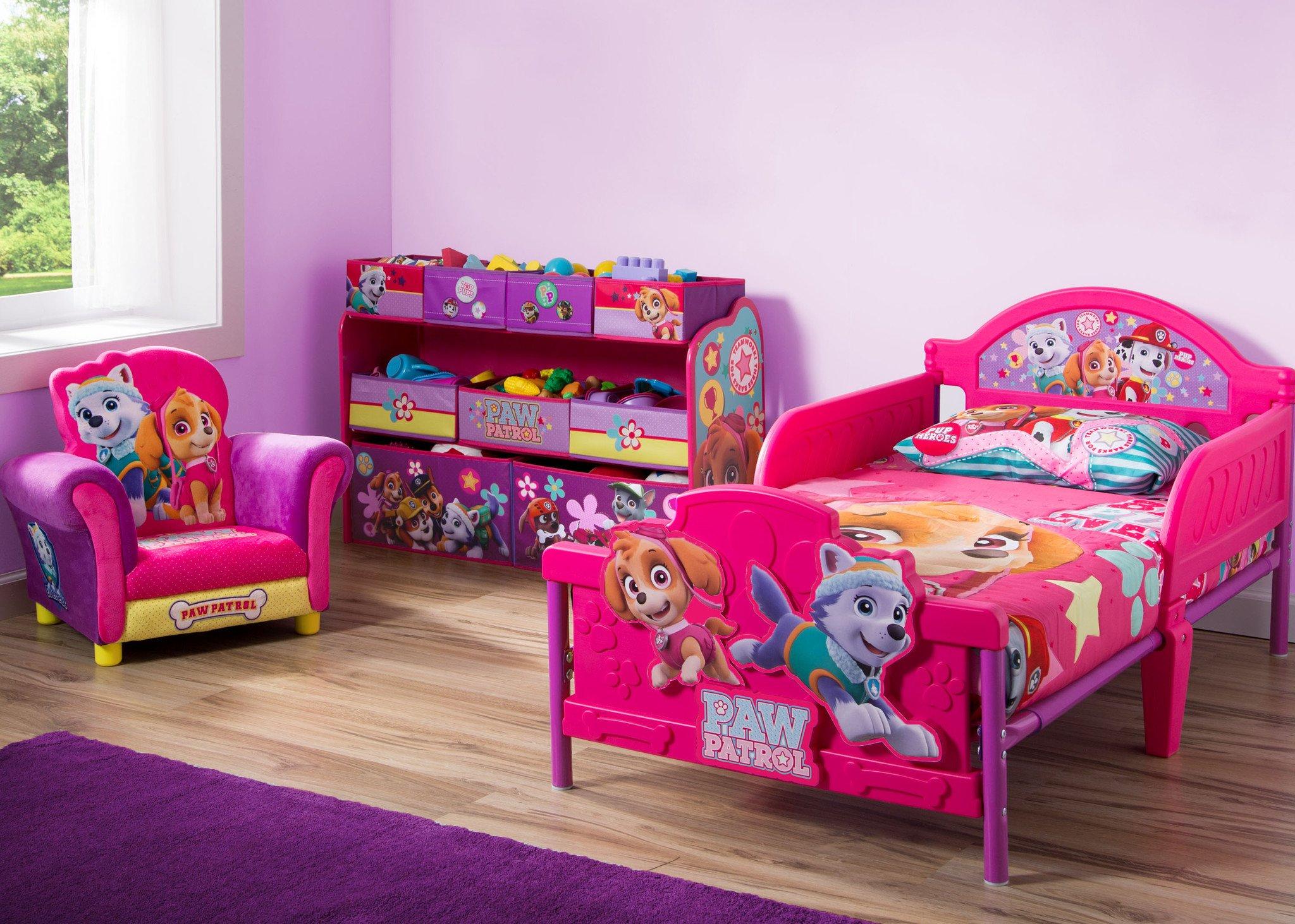 d tsk pokoj paw patrol tlapkov patrola plastov postel komoda k eslo. Black Bedroom Furniture Sets. Home Design Ideas